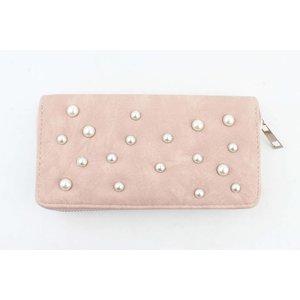 """Wallet """"Pearls"""" pink"""