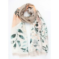 "Scarf ""Laura"" taupe"