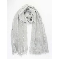"Scarf ""Laurie"" grey"