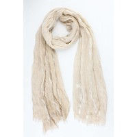 """Scarf """"Laurie"""" taupe"""