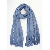 "Scarf ""Laurie"" blue"