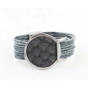 """Armband """"Kiana"""" blauw"""