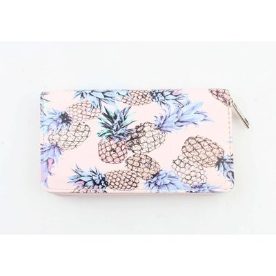 "Wallet ""Pineapple"" pink"