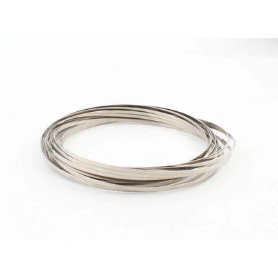 """Flow ring"" zilver"