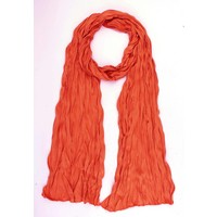 "Schal ""Uni Jersey S"" dunkel orange"