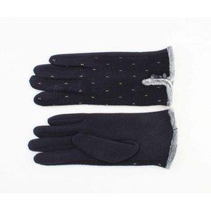 """Gloves """"Marita"""" blue"""