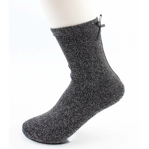 "Socks ""Lurex & Bow"" anthracite"
