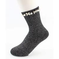 """Socken """"Madeleine"""" schwarze"""