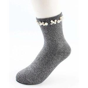 "Socks ""Madeleine"" grey"