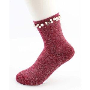 """Socken """"Madeleine"""" rot"""