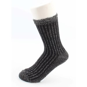 "Socks ""Sifra"" black/silver"