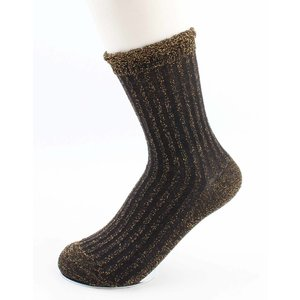 "Socks ""Sifra"" black/gold"
