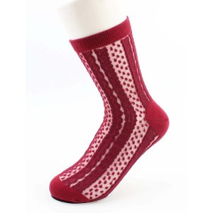 "Socks ""Mena"" red"