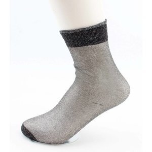 "Socken ""Basic"" anthrazit"