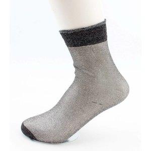 """Socks """"Basic"""" anthracite"""