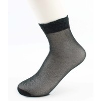 "Socken ""Basic"" grün"