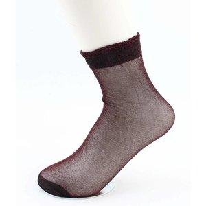 """Sokken """"Basic"""" rood, per 3 paar"""