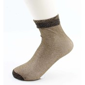 "Socken ""Basic"" gelb"