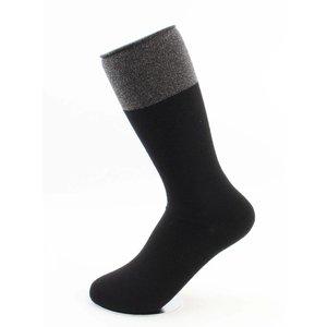 "Sokken ""Pip"" zwart, per 2 paar"