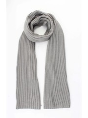 """Scarf """"Knitted"""" grey"""