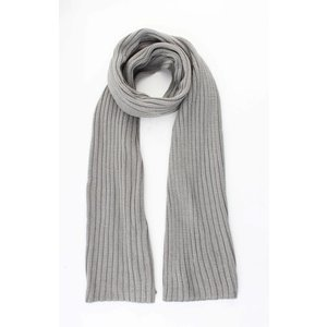 "Scarf ""Knitted"" grey"