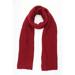 """Scarf """"Knitted"""" red"""