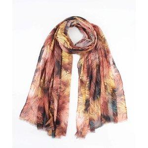 """Sjaal """"Gekke herfst"""" multicolor"""