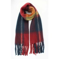 """Scarf """"Madison"""" red"""
