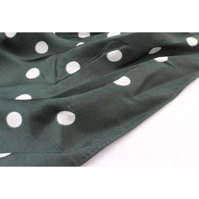 "Bandana ""Dots"" groen"