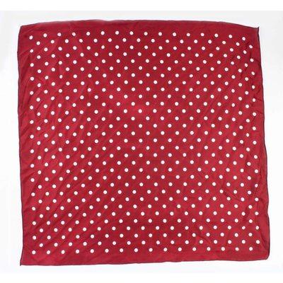 """Bandana """"Dots"""" rood"""