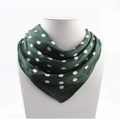 """Bandana """"Dots"""" green"""