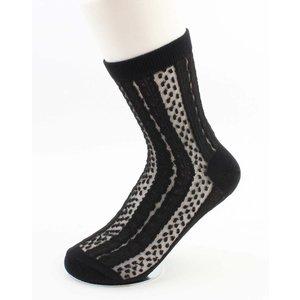 """Socks """"Mena"""" black"""