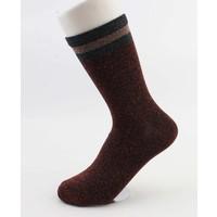 "Socken ""Sportlich Lurex"" rot"