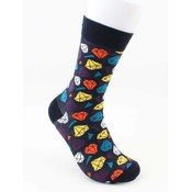 "Socks ""Diamond"" dark blue"