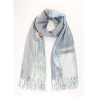 "Sjaal ""Jeans print"" blauw"