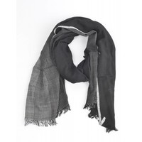 "Scarf ""Stripes"" black/ white"