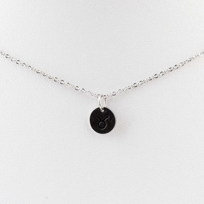 """Necklace """"Taurus"""" silver"""