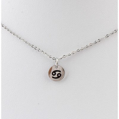 "Necklace ""Cancer"" silver"