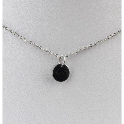 "Necklace ""Ram"" silver"