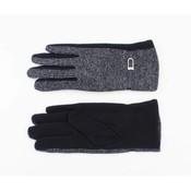 """Gloves """"Lurex"""" blue"""