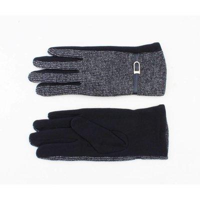 """Handschuhen """"Lurex"""" blau"""