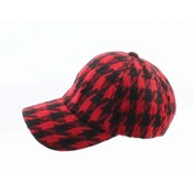 "Pet ""Pied de poule"" red/black"