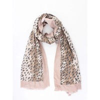 "Schal ""Camo Cheetah"" rosa/braun"