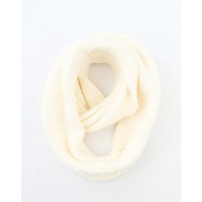 "Loop scarf ""Elle"" white"