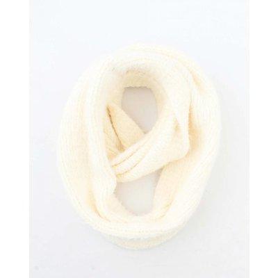 """Loop sjaal """"Elle"""" wit"""