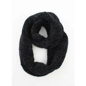 """Loop sjaal """"Elle"""" zwart"""