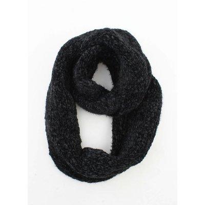 """Loop scarf """"Elle"""" black"""