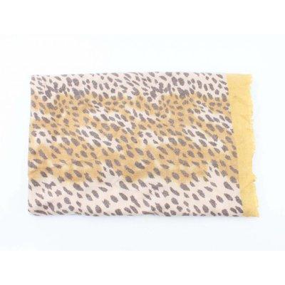 "Schal ""Camo Cheetah"" gelb"