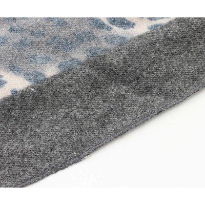 """Sjaal """"Camo Cheetah"""" blauw/grijs"""