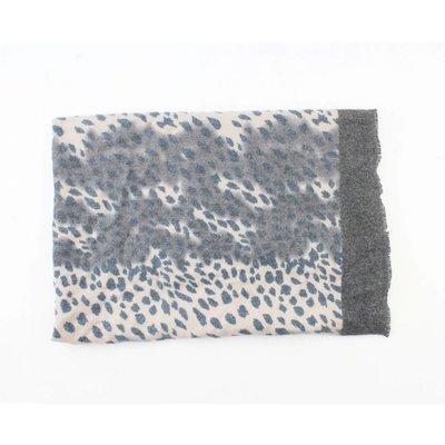 "Scarf ""Camo Cheetah"" blue/grey"